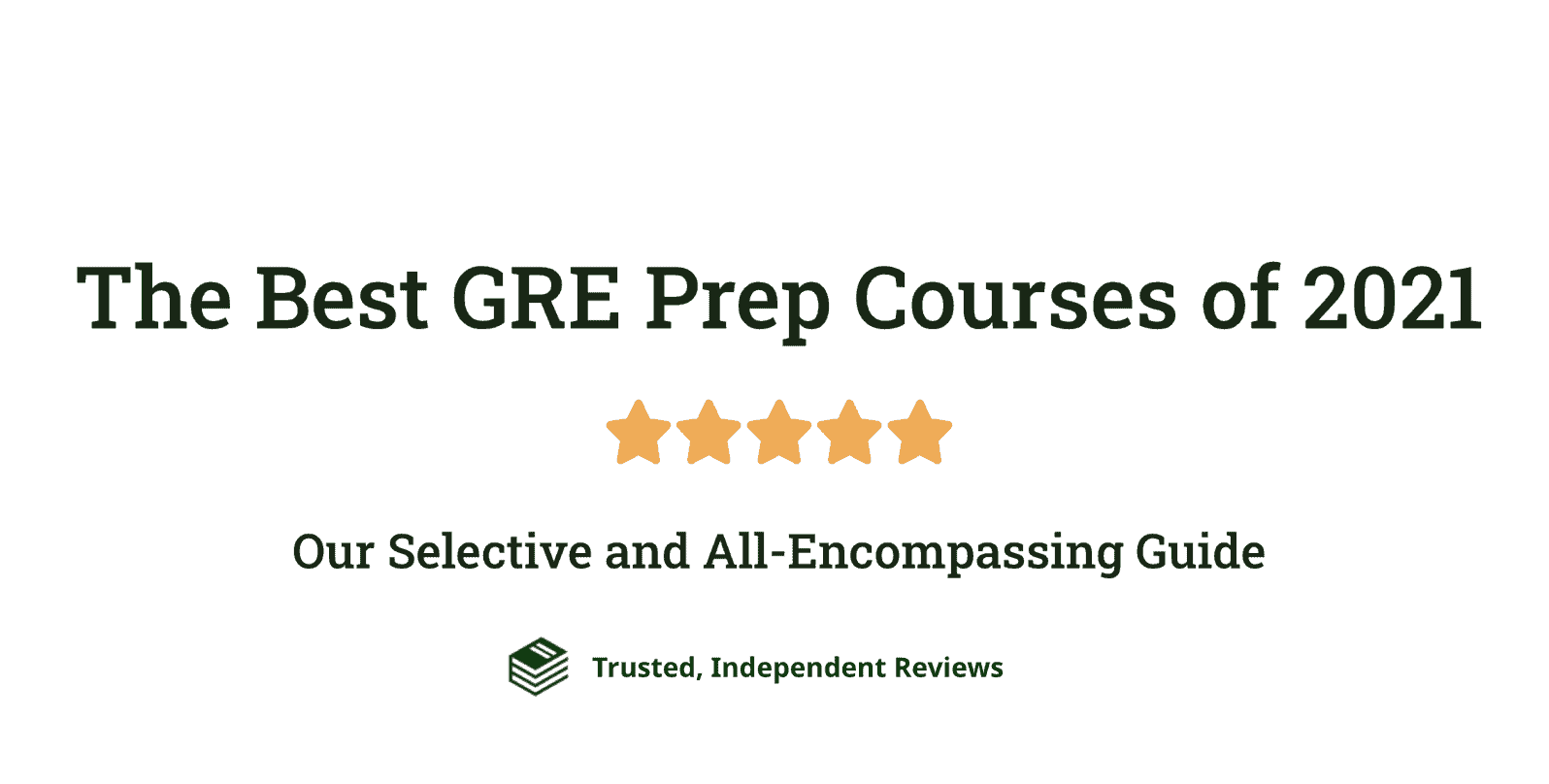 Best GRE Prep Course Cover