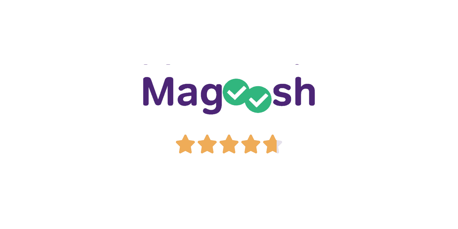 magoosh lsat prep course logo and star rating