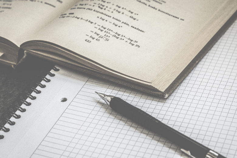 Pen with Graph Paper